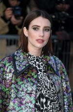 EMMA ROBERTS at Lous Vuiton Fashion Show at PFW in Paris 03/05/2019