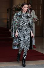 EMMA ROBERTS Leaves Ritz Hotel in Paris 03/05/2019