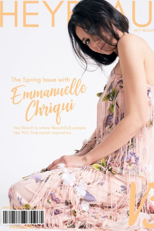 EMMANUELLE CHRIQUI in Hey Beauti Magazine, Spring 2019