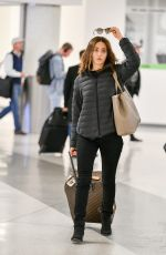 EMMY ROSSUM at Los Angeles International Airport 03/03/2019