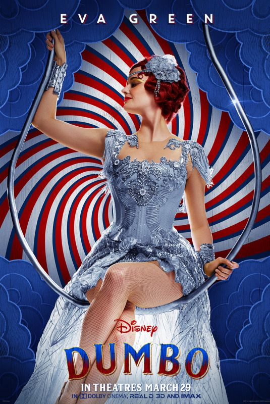 EVA GREEN - Dumbo Posters, Stills and Trailer