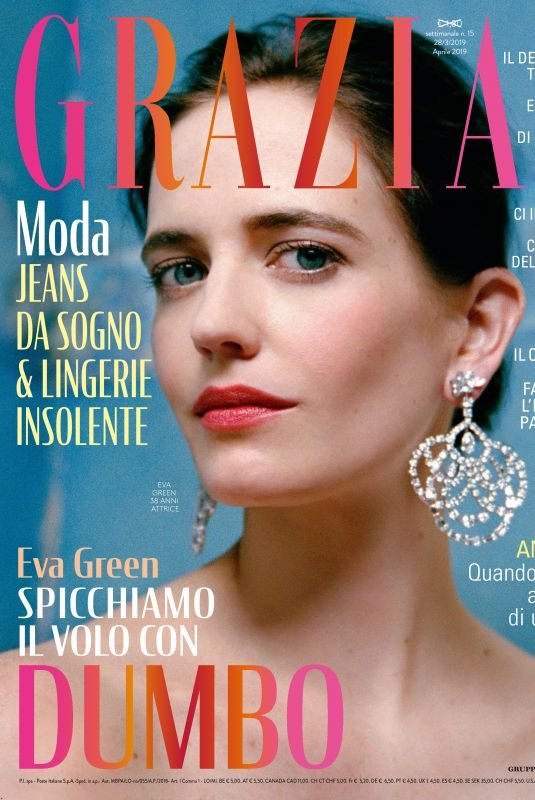 EVA GREEN in Grazia Magazine, Italy March 2019