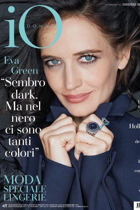 EVA GREEN in Io Donna Del Corriere Della Sera, March 2019