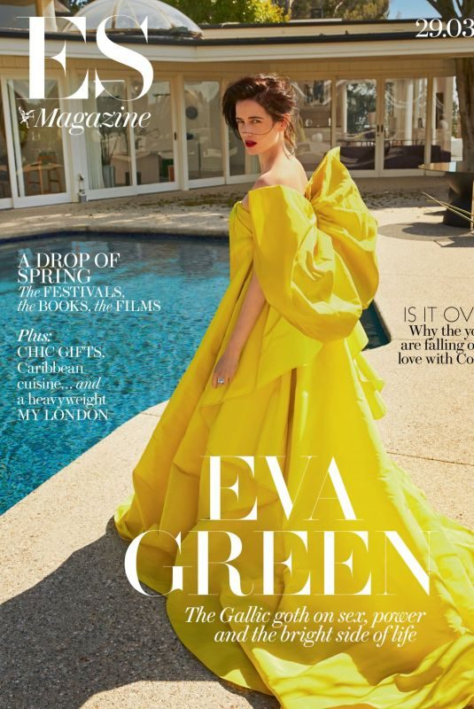 EVA GREEN on the Cover of Evening Standard Magazine, March 2019