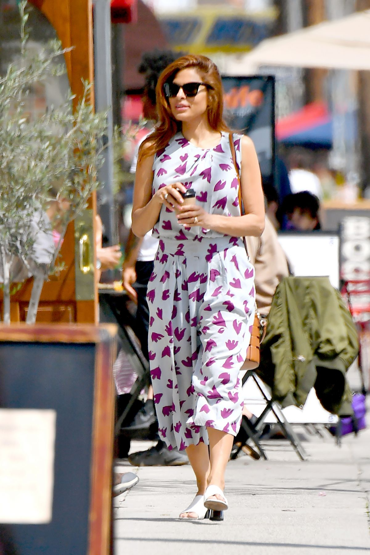 EVA MENDES Out Shopping in Los Angeles 03/29/2019 - HawtCelebs