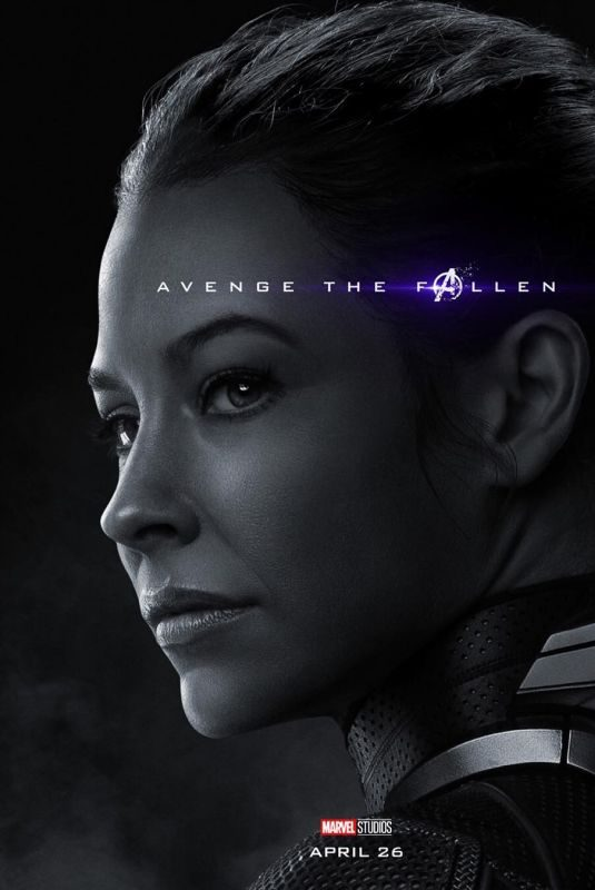 EVANGELINE LILLY – Avengers: Endgame Poster and Trailer
