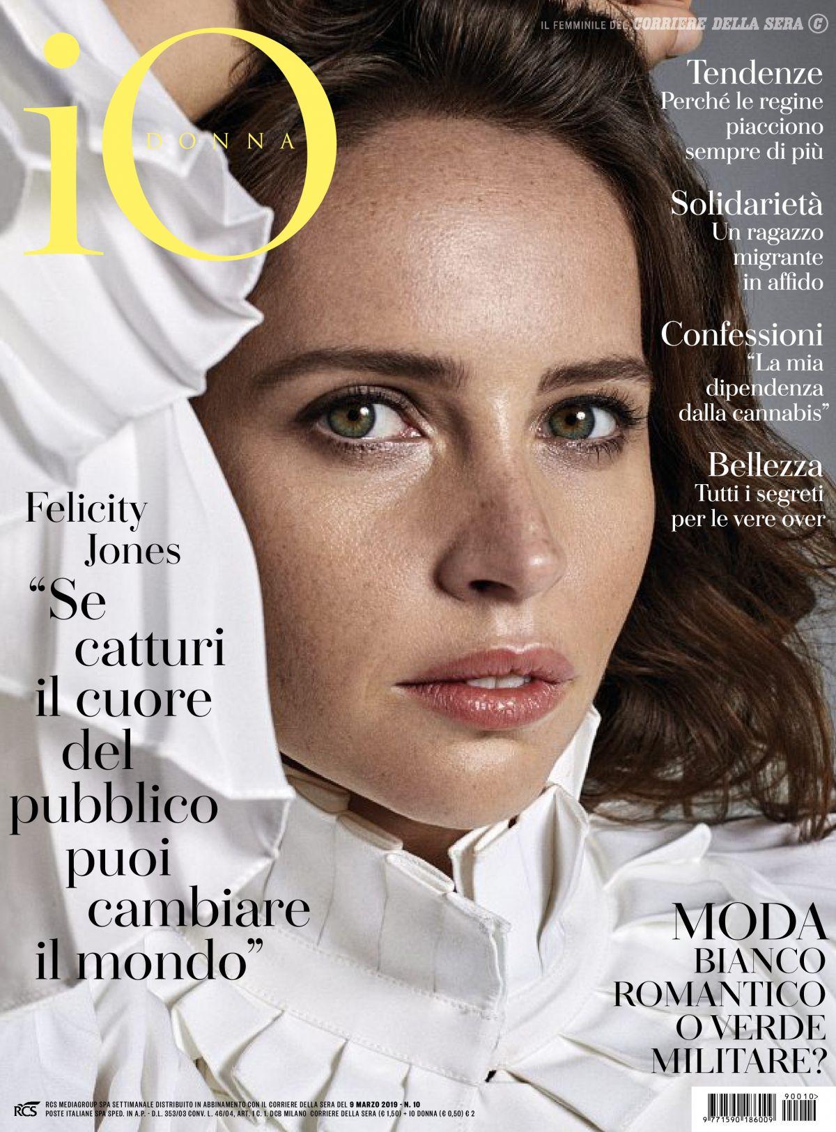 2278c52b98e4 FELICITY JONES in Io Donna Del Corriere Della Sera