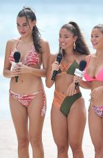 FROM MIAMI TV Girls in Bikinis at Beach in Miami 03/13/2019