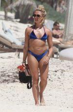 GABBY ALLEN in Bikinis at a Beach in Tulum 03/08/2019