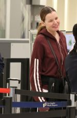 GEENA DAVIS at Los Angeles international Airport 03/20/2019