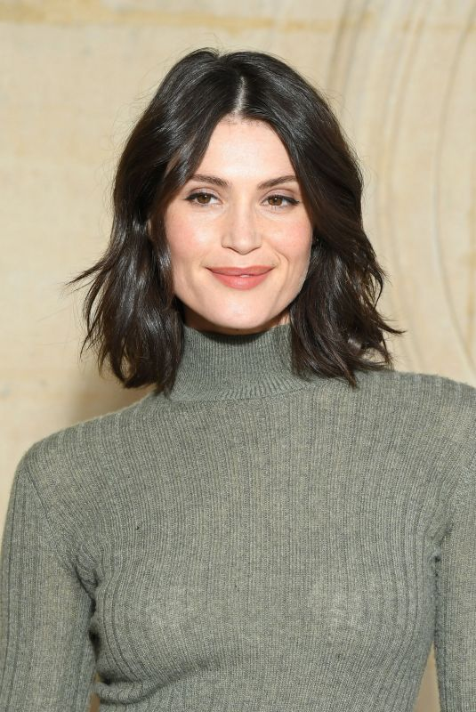 GEMMA ARTERTON at Christian Dior Fashion Show in Paris 02/26/2019