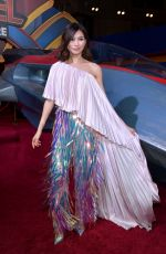 GEMMA CHAN at Captain Marvel Premiere in Hollywood 03/04/2019