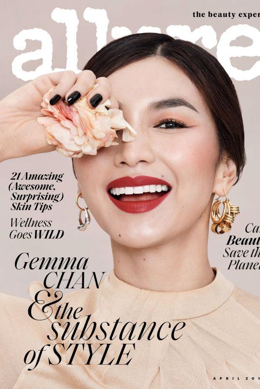 GEMMA CHAN for Allure Magazine, April 2019