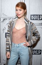 GENEVIEVE ANGELSON at Build Series in New York 02/28/2019