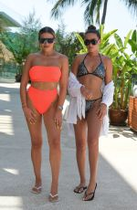 GEORGIA KOUSOULOU, CHLOE ROSS nad CHLOE and DEMI SIMS on the Set of Towie in Thailand 03/09/2019