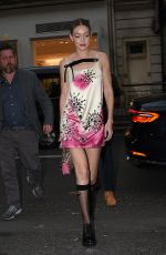 GIGI HADID Arrives at Vogue Party in Paris 03/03/2019