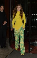 GIGI HADID Leaves Vogue Party in Paris 03/04/2019