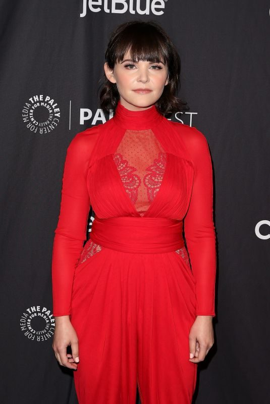 GINNIFER GOODWIN at 2019 Paleyfest in Los Angeles 03/24/2019