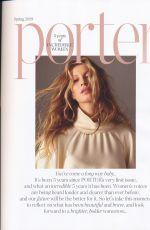 GISELE BUNCHEN in Porter Edit, February 2019