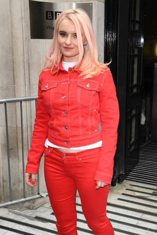 GRACE CHATTO Leaves BBC Radio 2 in London 03/15/2019
