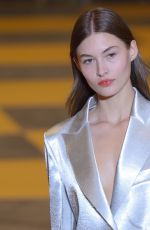 GRACE ELIZABETH at Off-white Runway Show at Paris Fashion Week 02/28/2019