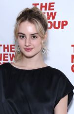 GRACE VAN PATTEN at 2019 New Group Gala in New York 03/11/2019