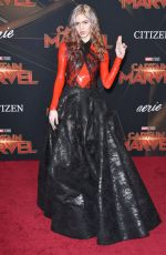 GRIMES at Captain Marvel Premiere in Hollywood 03/04/2019