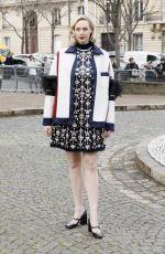GWENDOLINE CHRISTIE at Miu Miu Show at Paris Fashion Week 03/05/2019