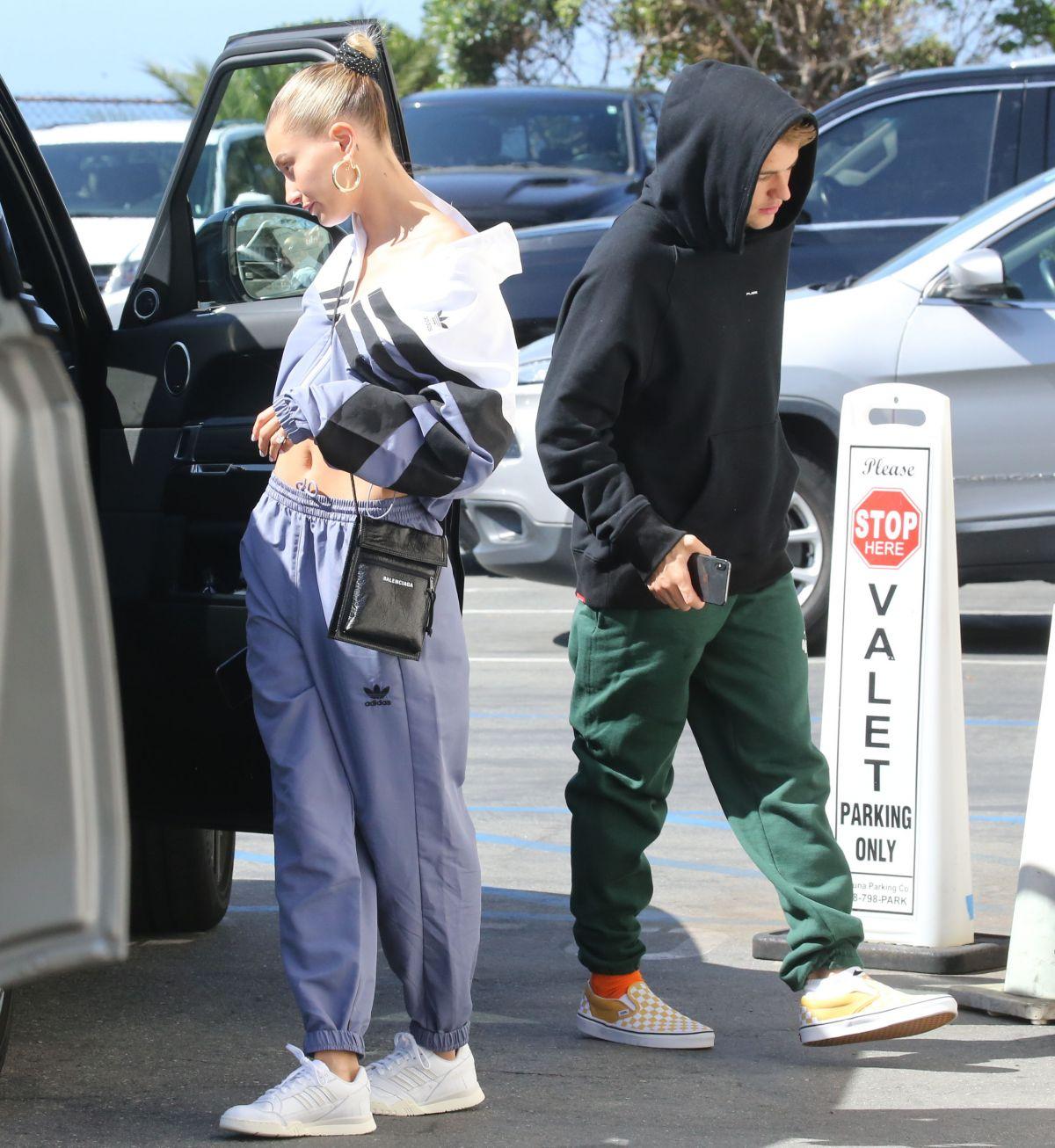 Hailey And Justin Bieber Out In Laguna Beach 03 30 2019