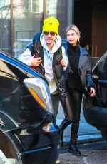 HAILEY and Justin BIEBER Out in New york 02/28/2019