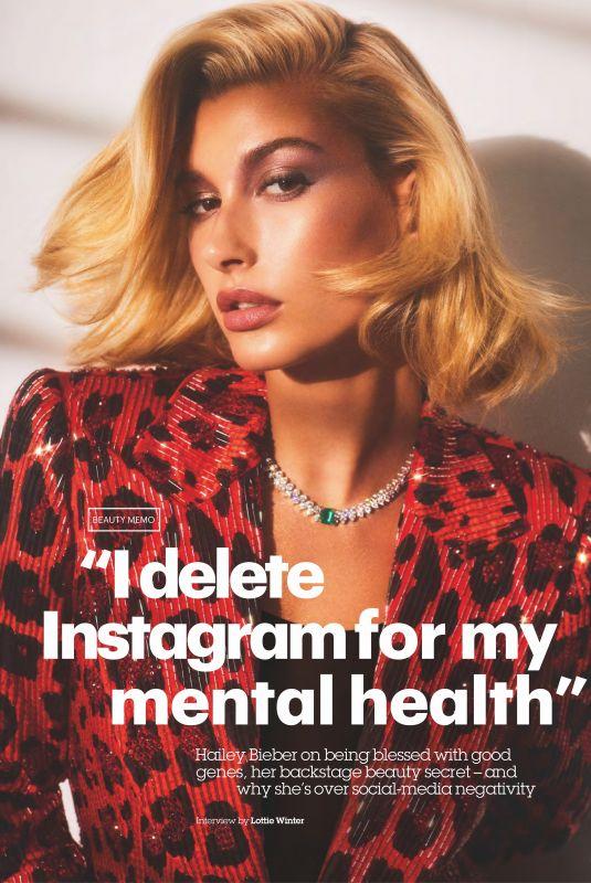 HAILEY BALDWIN in Glamour Magazine, UK February 2019