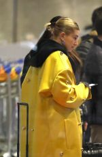 HAILEY BIEBER at Charles De Gaulle Airport in Paris 03/03/2019