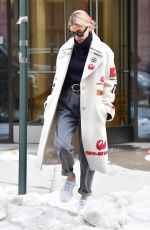 HAILEY BIEBER Heading to a Beauty Salon in New York 03/08/2019
