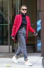 HAILEY BIEBER Out and About in New York 03/08/2019