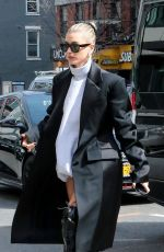 HAILEY BIEBER Out and About in New York 03/13/2019