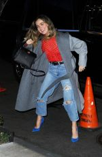 HALEY LU RICHARDSON Arrives at Her Hote in New York 03/12/2019