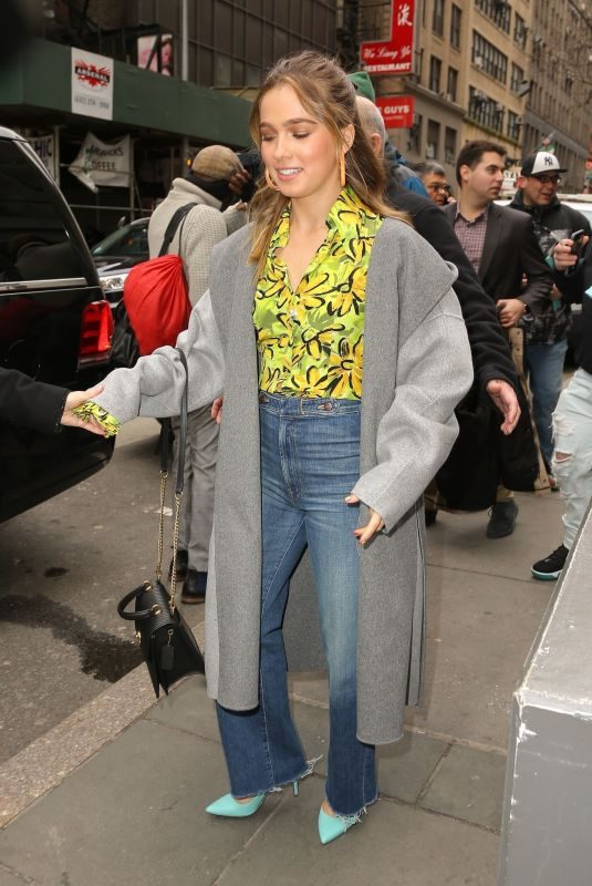 HALEY LU RICHARDSON Arrives at Today Show in New York 03/12/2019