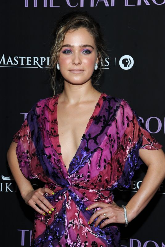 HALEY LU RICHARDSON at The Chaperone Premiere in New York 03/25/2019