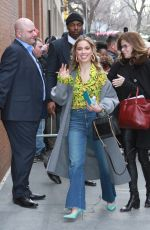 HALEY LU RISCHARDSON Arrives at The View in New York 03/12/2019