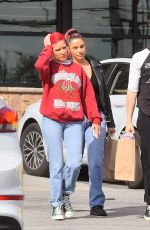 HALSEY Out and About in Los Angeles 03/03/2019