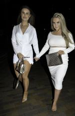 HANNAH JONES and EMILY LONGDEN Night Out in Salford 03/09/2019