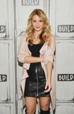 HASSIE HARRISON at AOL Build in New York 03/26/2019