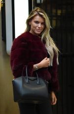HAYLEY HUGHES Arrives at Rosso Restaurant in Manchester 03/08/2019