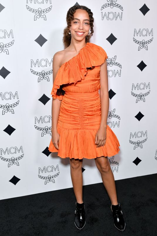 HAYLEY LAW at MCM Global Flagship Store Opening on Rodeo Drive in Beverly Hills 03/14/2019