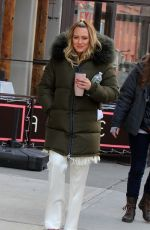 HILARY DUFF on the Set of Younger in New York 03/06/2019