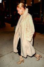 HILEY BIEBER Leaves Her Apartment in New York 03/05/2019