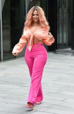 HOLLY HAGAN Out and About in Manchester 03/20/2019