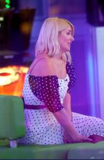 HOLLY WILLOGHBY on the Set of The One Show in London 03/07/2019