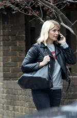 HOLLY WILLOUGHBY Out and About in London 03/20/2019