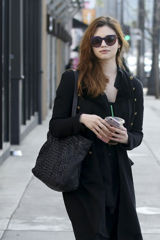 INDIA EISLEY Out Shopping in Los Angeles 03/20/2019